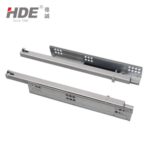 High quality hardware undermount drawer slide soft closing concealed drawer slide
