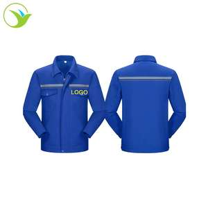 Factory custom printed logo manufacture professional anti-resistant safety industrial uniforms workwear