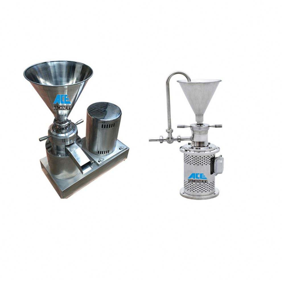 Factory Price Stainless Steel Peanut Butter Grinding Machine Colloid Mill For Leather Toothpaste