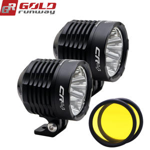 GOLDRUNWAY GR-CR4 35W 3800lm led spot beam Motorcycle LED Headlight