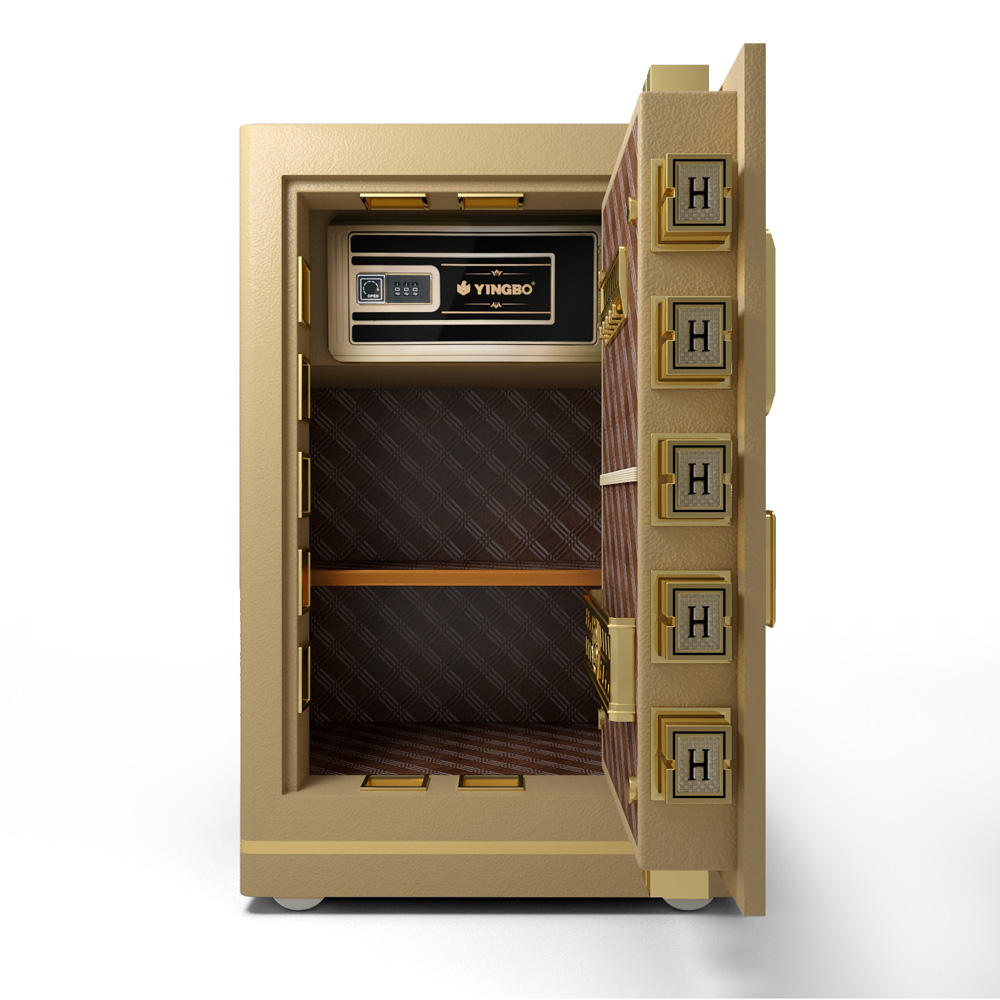 Fingerprint lock with stronger solid latches safe boxes