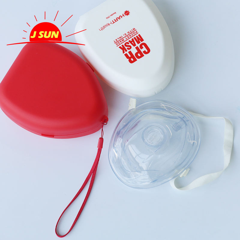 CE Approved First aid mouth to mouth face shield key chain CPR mask