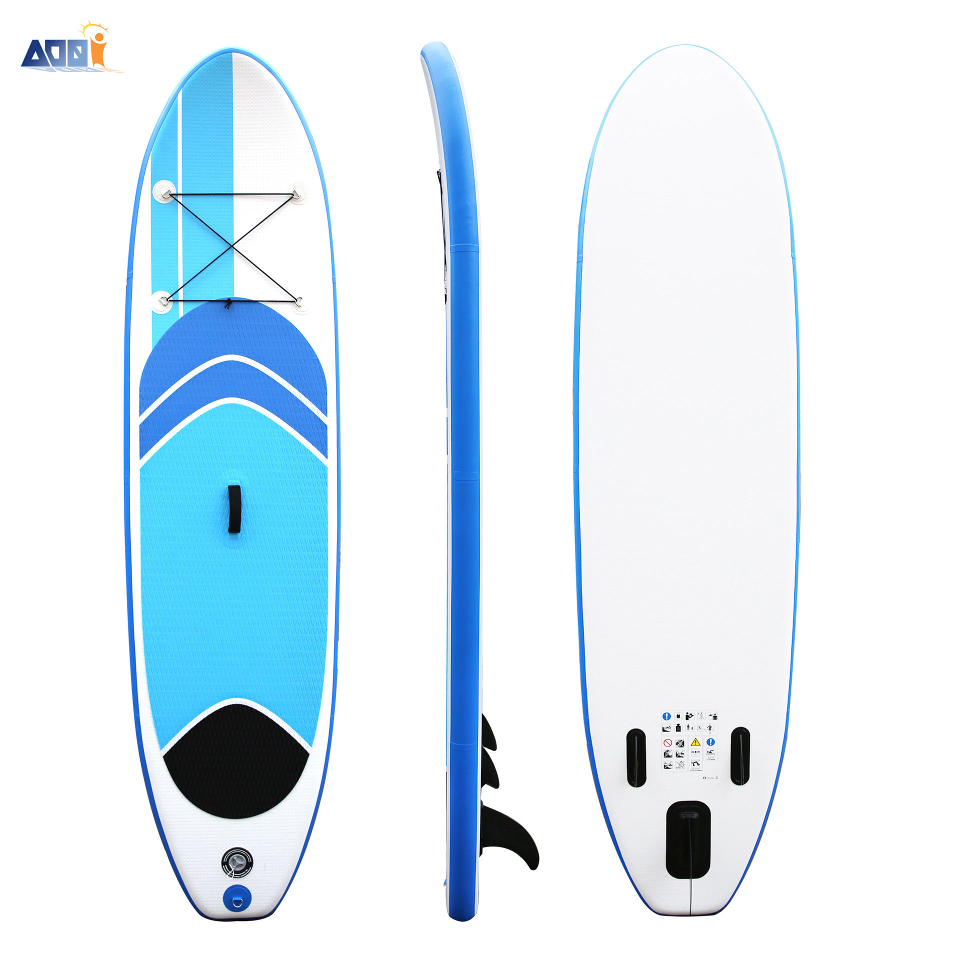 Double Layer Drop Stitch PVC Inflatable Surfboards Standard set coiled Soft Top Stand Up Surfing Paddle Board Sup