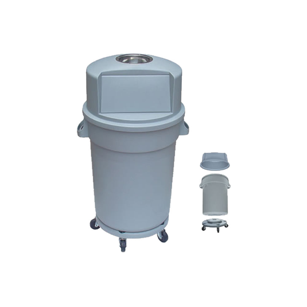 Wholesale Durable plastic dustbin with ashtray