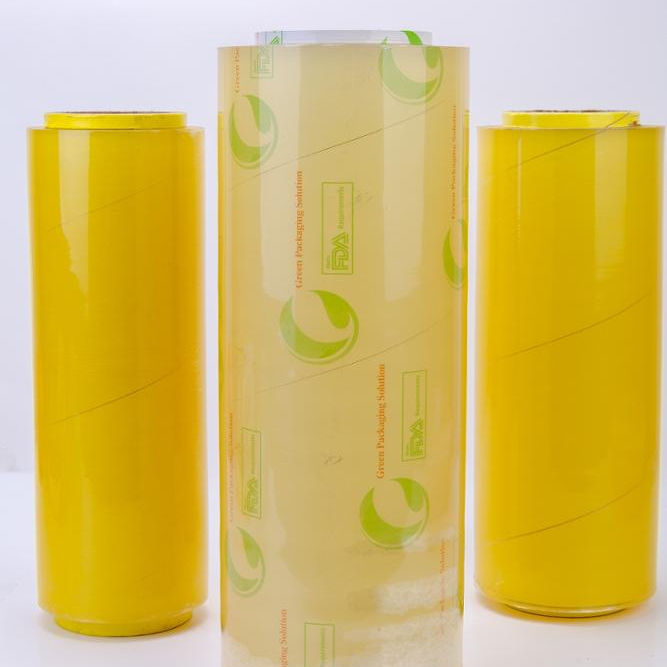 Food Grade High Transparent Super Clear PVC Food Wrap Cling Film