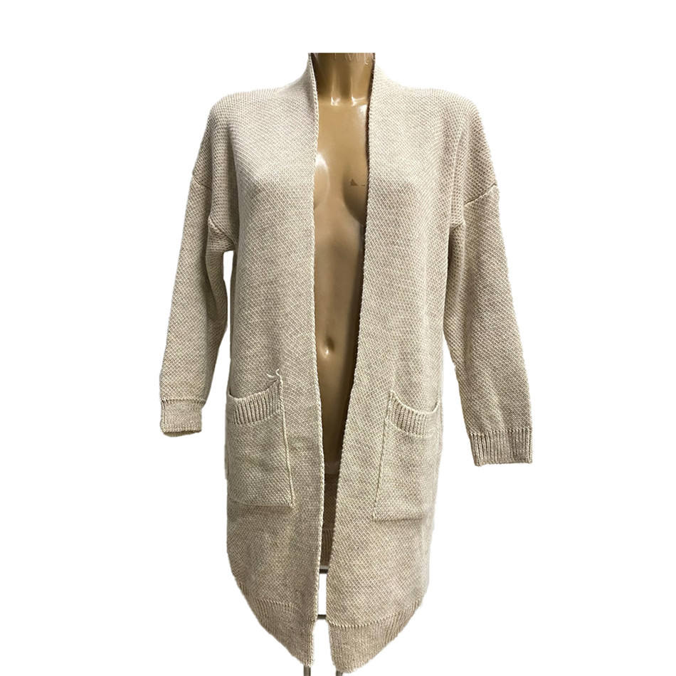 Beige Italy design new fashion fall elegance female cardigan