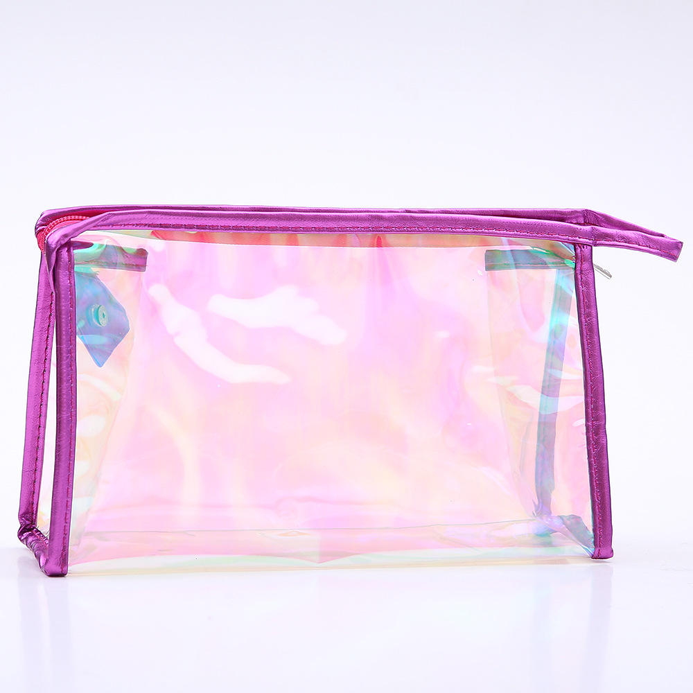 Customised Eco Beauty Recycled Plastic Cosmetic Bag for Eyelash