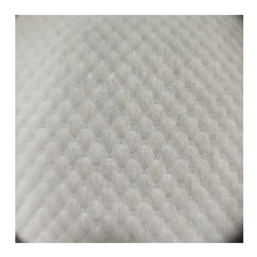 Hot Air through perforated double 3D embossing nonwoven, fabric roll,sanitary napkin raw material, made in China