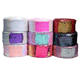 2019 china 3 inch wide 75mm reversible sequin print glitter ribbon