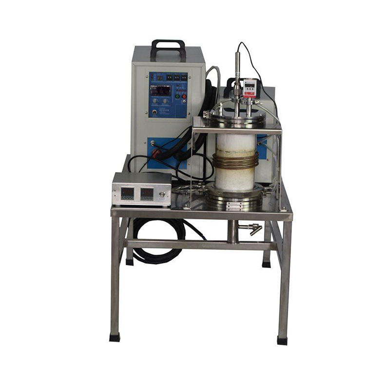 7KW Small Lab Vacuum Induction Melting Furnace with 60mm Quartz Tube & Complete Accessories