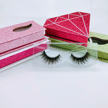 eyeliner and magnetic and tweezer kit hand made high quality  3d mink eyelashes