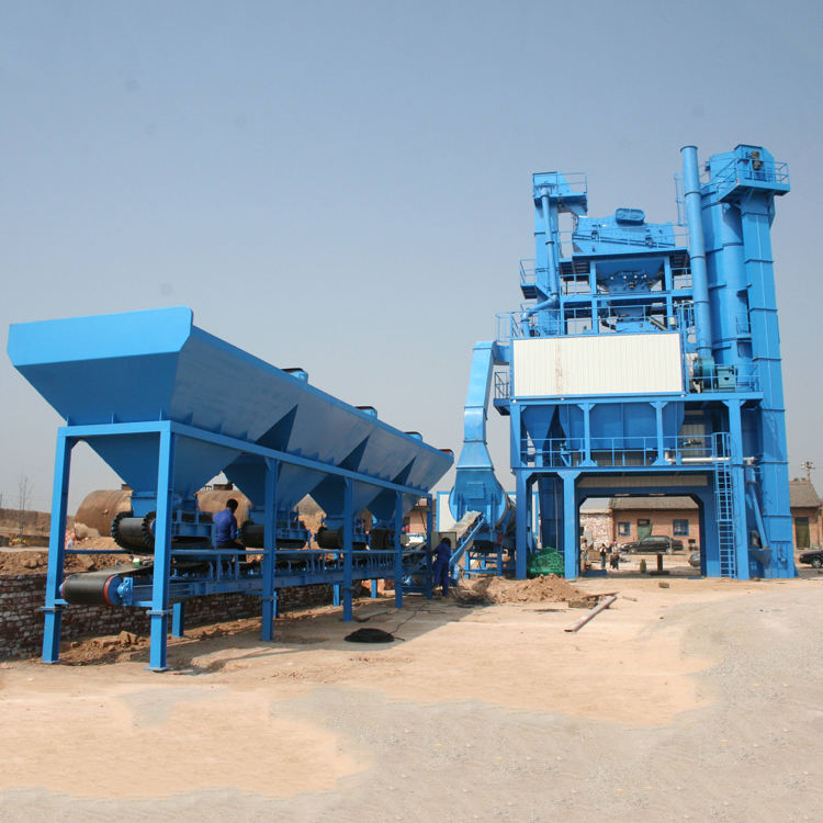 China Fabriek 200 t/h drum type continu mix asfalt plant gemaakt in germani