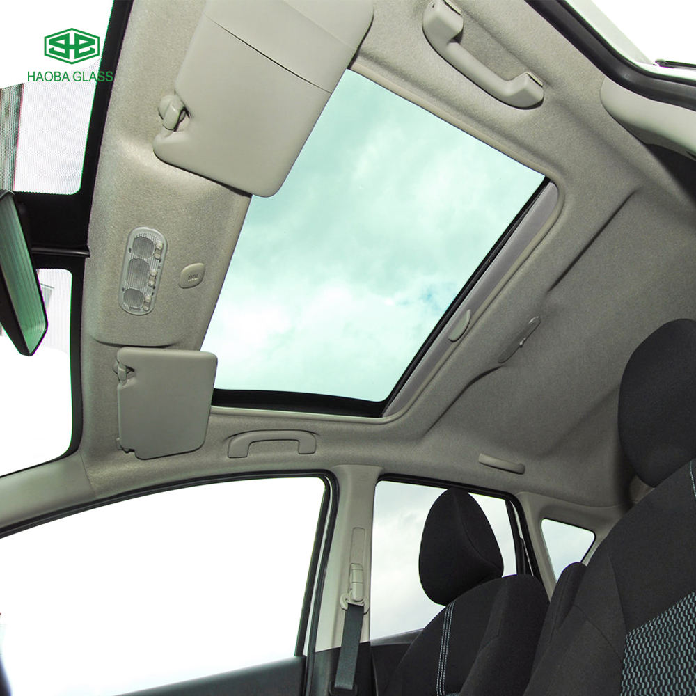 Universal Car Sunroof / Side Door and Window Glass / Front Windshield