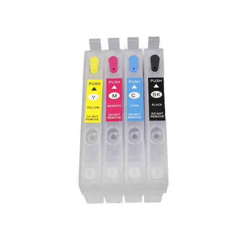 T812 T812XL Geen Chip Navulbare Inkt Cartridge Zonder Chip Compatibel Voor Epson Workforce WF-7820 WF-7840 EC-C7000 Printer