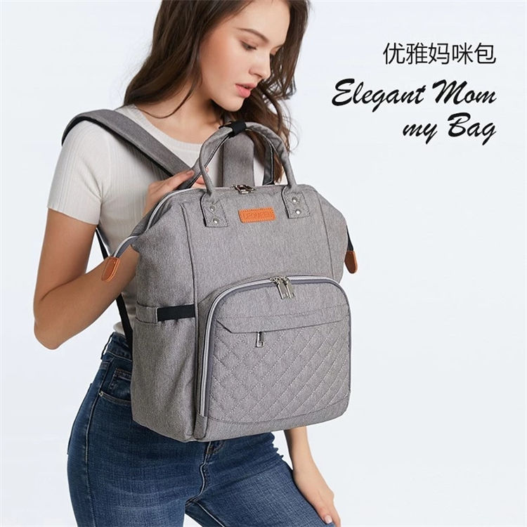 Mummy Diaper Bag 2020 Wholesale Waterproof Travel Anti Theft Mom Back Fashion Baby Nappy Changing Backpack Mommy