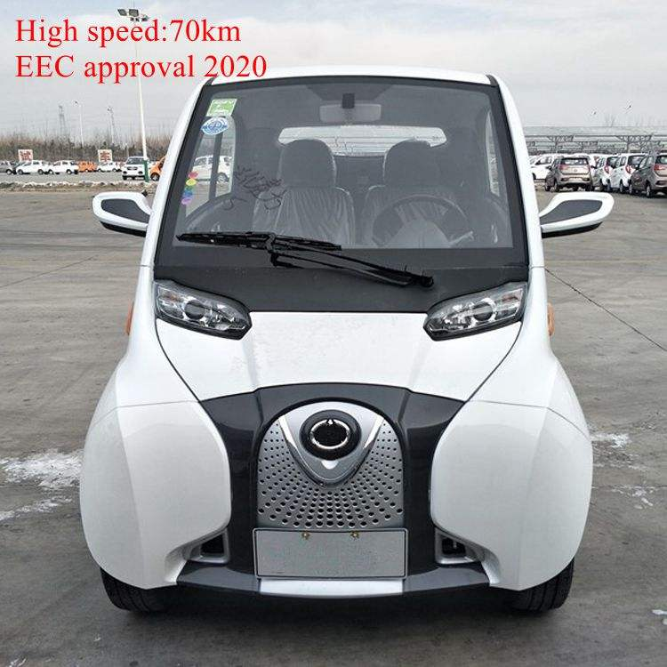 high speed EEC approved mini electric car with 2 seats