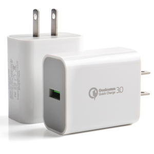 18W 3Amp QC 3.0 USB Wall Travel Charger Adapter Fast Mobile Phone Charger