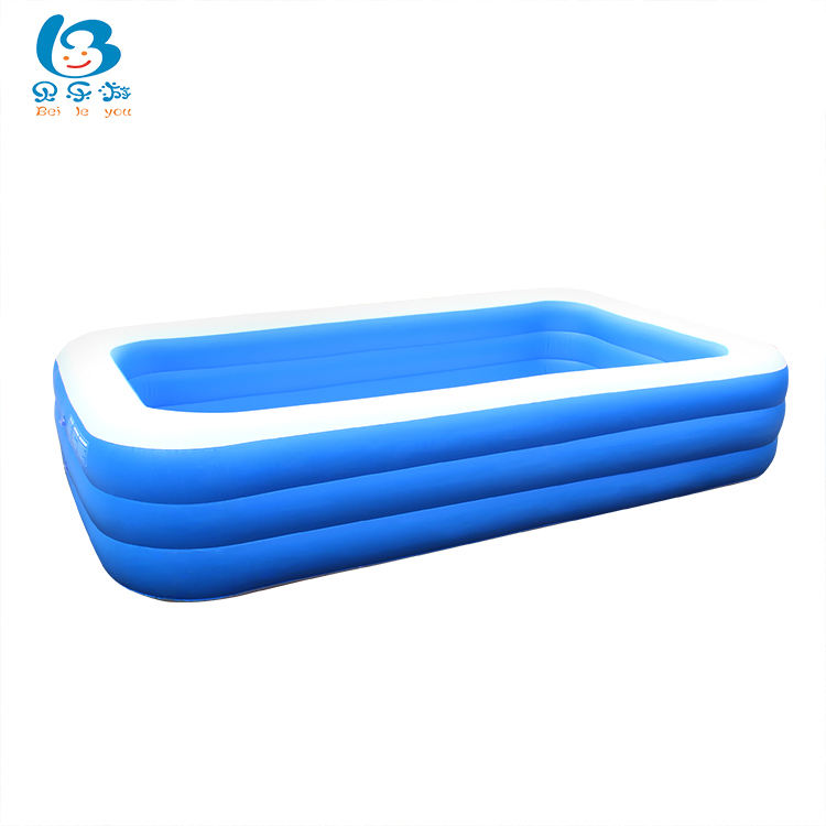 Outdoor furniture large size pvc wear-resistant swimming pool inflatable water pools