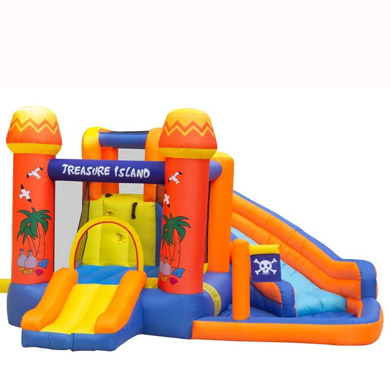 Wholesale Combo Kids Bounce House Inflatable Bouncy Castle with Slide Manufacturers China