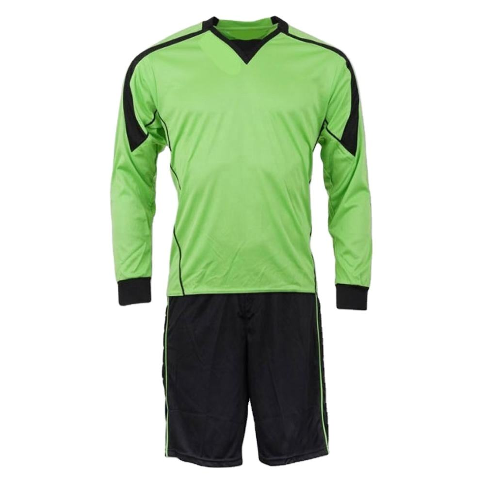 Oem Service Voetbal Doelman Jerseys Uniform Lange Mouwen Keeper Jerseys Uniform