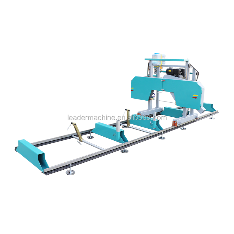 Forest wood working machine horizontal band saw mills