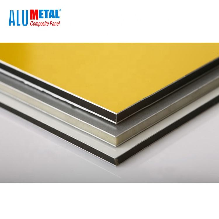 a2 Exterior used PVDF ACP/ACM Aluminum composite panels manufactures/acp sheet price 3mm 4mm for advertising board