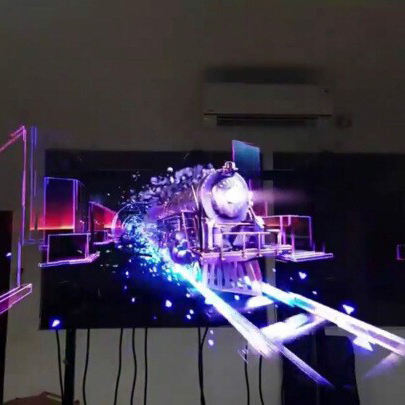 Factory Cheap Price Led 3d Hologram Advertising Fan Display Equipment