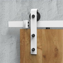 quality sliding bypass barn door mechanism hardware kit