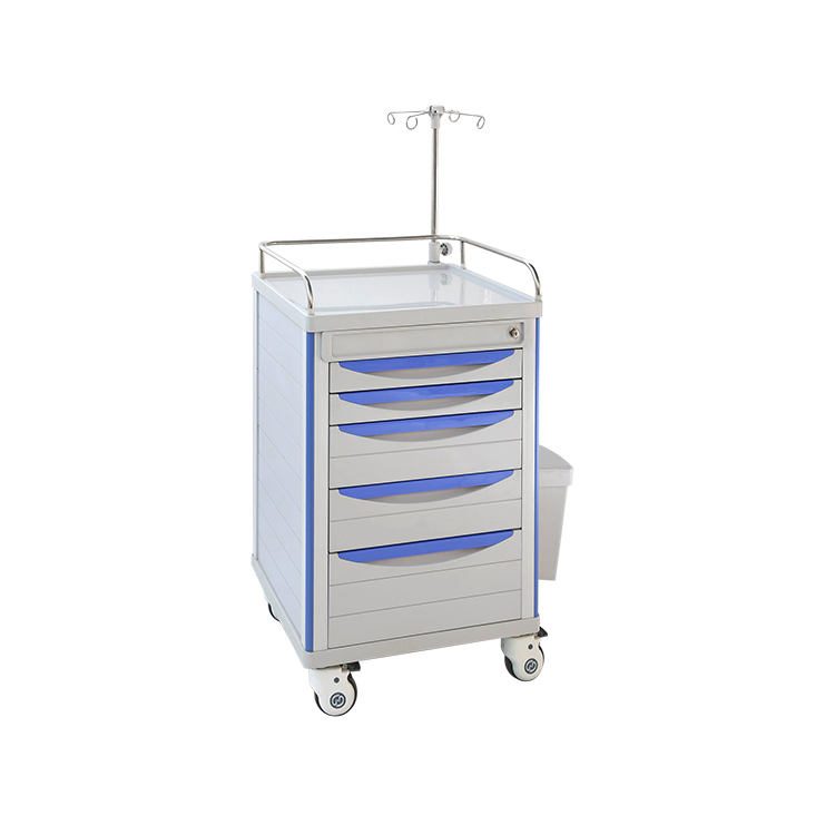 MKR-CT600 Multi-function Clinic Trolley/abs medical trolley good price