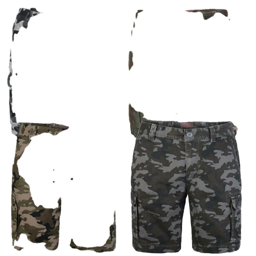 2020 army green Camouflage Mens Cargo Short