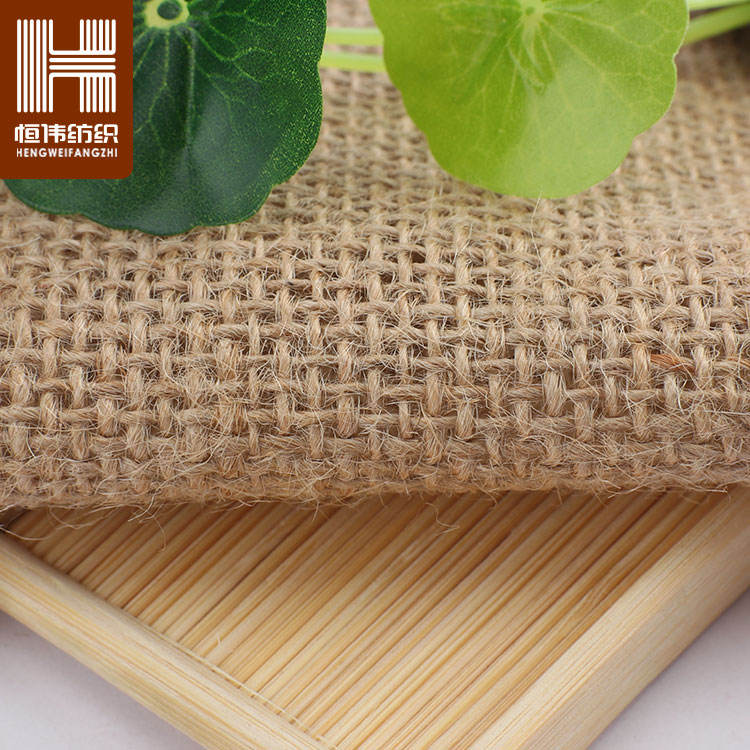 Stocklot Yarn Dyed Textiles Hessian Jute Burlap 100% Woven Jute Fabric Roll For Bags