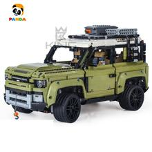 Technology series King building block Land Rover Defender off-road vehicle games assembled toys technic brick toys games (93018)