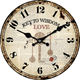 Clock Best Selling Customized 14 Inch MDF Round Hanging Wall Clock Home Decoration