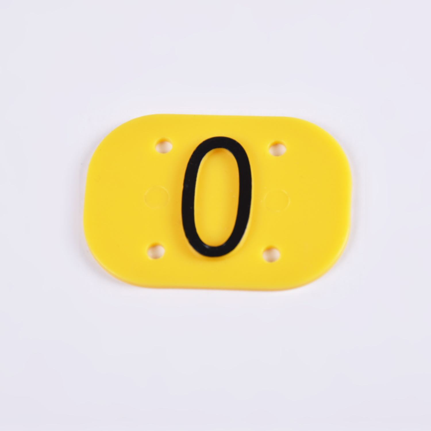 Commercial Kitchen Take Out Box Food Separation Use 3D plastic Identification ID number Key Tags for Takeaway Food