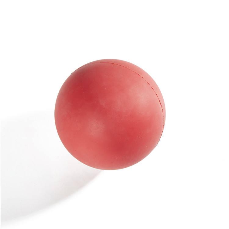 Personnalisé en caoutchouc solide petite boule de yoga massage balle jouet balle