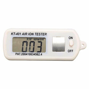 Draagbare Mini Auto Air Ion Tester Meter Teller Schone Kamer Filter Zuurstof Ionen Maximum Hold Auto Luchtreiniger Ion tester Meter
