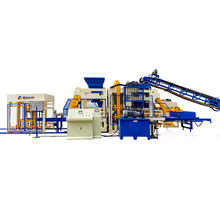 Cement tile machine QT 10-15 fully automatic interlocking Concrete Block Making Machine Price