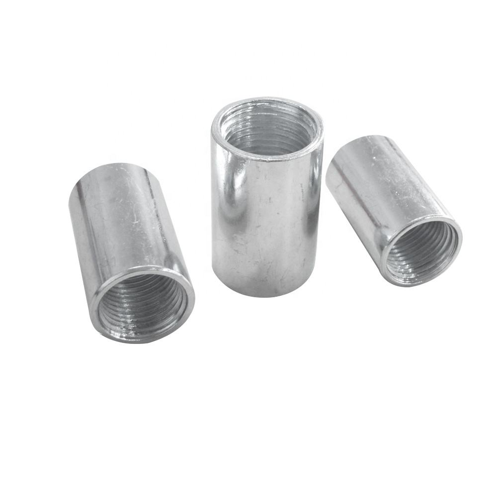 Rigid steel pipe fitting galvanized rigid coupling list with high strength seamless steel pipe