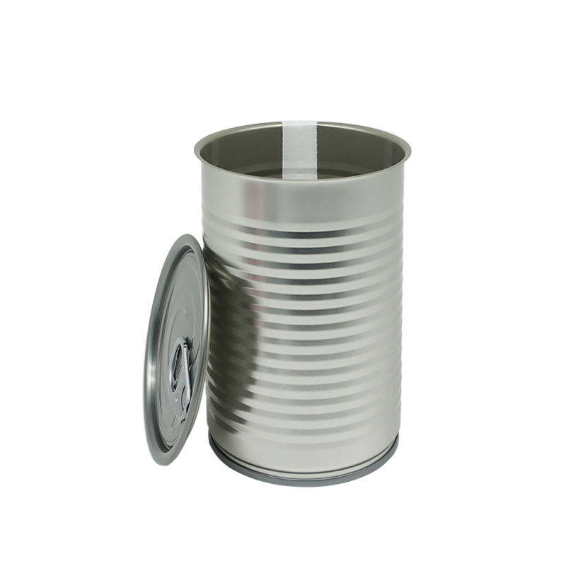 Empty Round Food Grade Tin Cans Manufacturer
