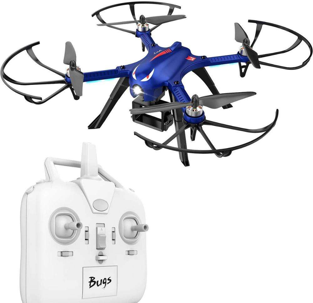 Bugs 3 Brushless Motor Quadcopter Drone bug 6 axis gyro rc for Adults and Hobbyilists