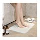 Amazon strong water absorbent non slip diatomite bath mat toilet mat for shower