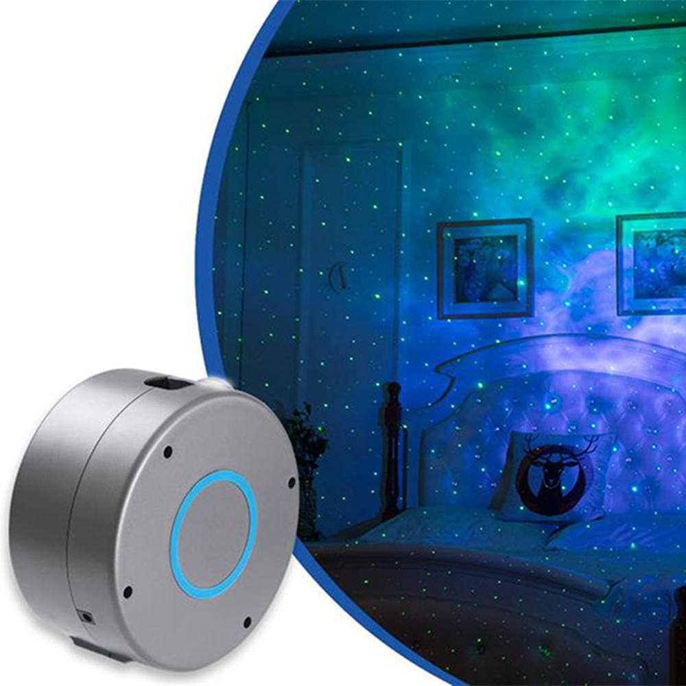 estrelas do laser w/Nebulosa Nuvem para o Jogo de Crianças Quartos Home Theatre LED Night Luz Ambiente interior