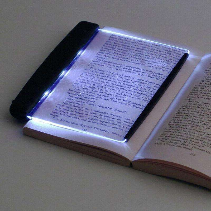 Creative Flat Plate LED Reading Lamp Portable Reading Dormitory Eye Protection Led Reading Book Lights