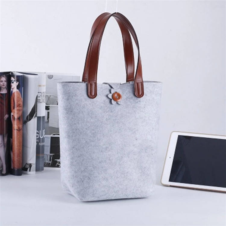 felt shopping bag felt wool laptop carry on handbag sleeve case cover protector shoulder bag tote for 13''