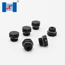 Waterproof Ip68 M20 Nylon Breathable Valve Air Screw Stop Plug Ventilate Permeable Hydrophobic Plastic Breather  Vent Plug