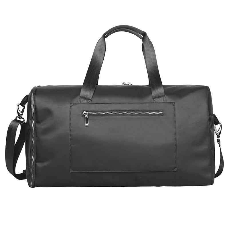 large nylon black luxury suit duffle bag
