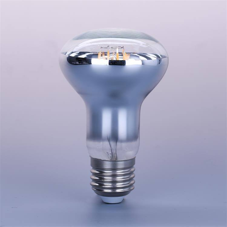 Hangat Putih R63 LED Filament Bulb E26 E27 6W Dimmable A60 LED Filament Bulb Lampu