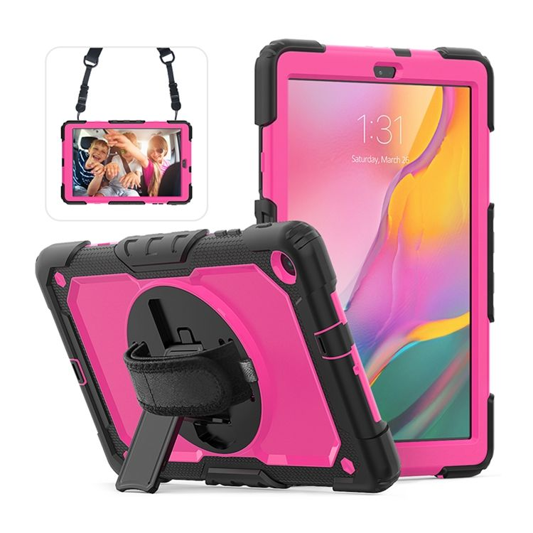Factory Colorful Strap Cases For tab a T510 Silicone Rugged Case Tablet Cover 10.1 Inch 2019