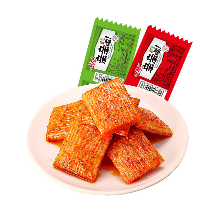22g bags Chinese Snacks Mala Bean Snacks Gluten Sticks Latiao Sharp Taste HotSpicy Strip Snacks