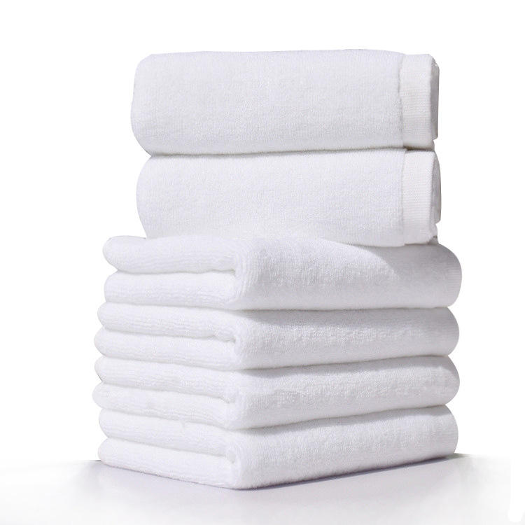 70x140cm Size and Plain 32s hotel bathing towel